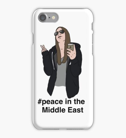 Peace in the Middle East iPhone Case/Skin
