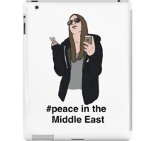Peace in the Middle East iPad Case/Skin