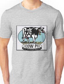 Funny Pi Day Cow Pi Unisex T-Shirt