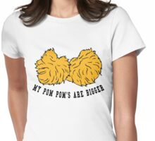 Cheerleader POM POMs Womens Fitted T-Shirt
