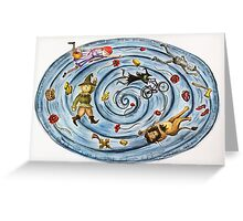 Ozmosis Greeting Card
