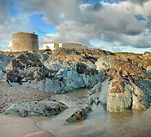 Donabate Martello Tower by Martina Fagan