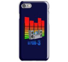 DJ PON-3 iPhone Case/Skin
