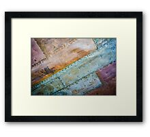 The Hull of Sirius Framed Print