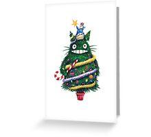 Totoro Christmas! Greeting Card