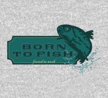 Born to Fish VRS2 Kids Clothes