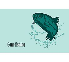 Born to Fish VRS2 Photographic Print