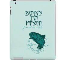 Born to Fish VRS2 iPad Case/Skin