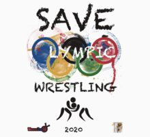 SAVE OLYMPIC WRESTLING!!! Kids Tee