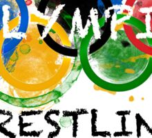 SAVE OLYMPIC WRESTLING!!! Sticker