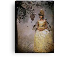 The Bee Charmer Canvas Print