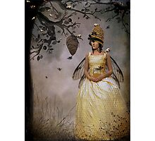 The Bee Charmer Photographic Print