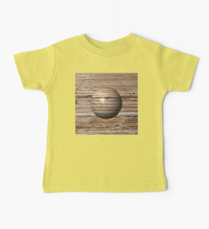 Wooden Globe Baby Tee