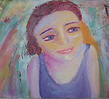 Gilr In the Kaleidoscope by Tara Bateman