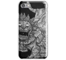 Striped Circus Mural iPhone Case/Skin