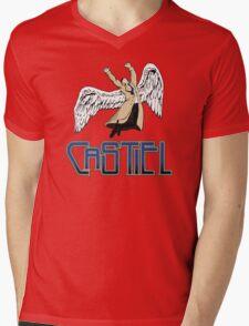 Castiel Mens V-Neck T-Shirt