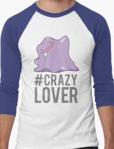 NateWantsToBattle - Crazy Lover Men's Baseball ¾ T-Shirt