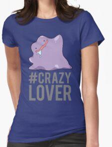 NateWantsToBattle - Crazy Lover Womens Fitted T-Shirt