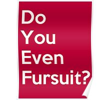 Do You Even Fursuit? Poster