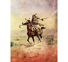 Nobleman of the Plains Indian Photographic Print