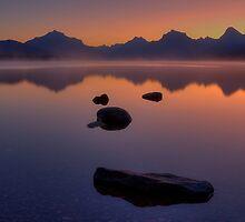 Glacier Mountain Magic - 6:58am by JamesA1