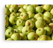 Green Apples  Canvas Print