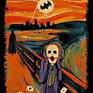Scream Art Joker Edition by TLinehan