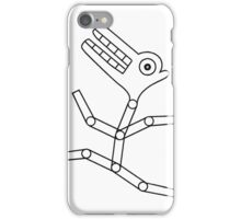 Mechanical Crocodile Face Runner iPhone Case/Skin