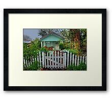 Cottage Charm Framed Print