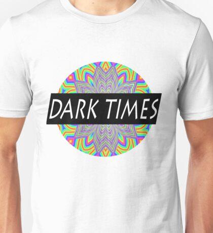 Dark Times Trippy Logo Unisex T-Shirt