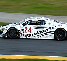 Audi R8 Grand-Am - AJR/WeatherTech Racing by Timothy Meissen
