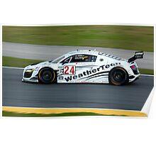 Audi R8 Grand-Am - AJR/WeatherTech Racing Poster