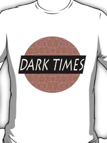 Dark Times Patterned Logo T-Shirt