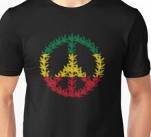 Rastafari Cannabis Peace Symbol Unisex T-Shirt