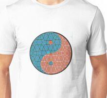 Pattern Print Yin Yang Unisex T-Shirt