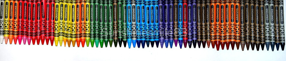 Crayons of All Hues by Sunshinesmile83