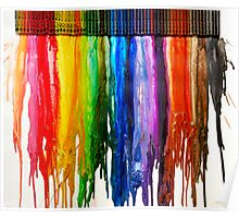 Crayon Canvas Poster