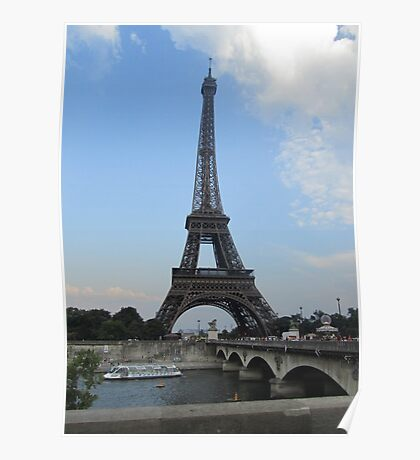The Famous Eiffel Tower Poster