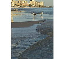 Destin FLorida Beach Reflection Photographic Print
