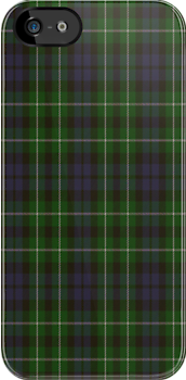 00025 Graham Clan Tartan Fabric Print Iphone Case by Detnecs2013
