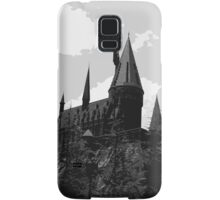 Grey-scale Hogwarts Samsung Galaxy Case/Skin