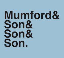 Mumford & Sons Kids Clothes