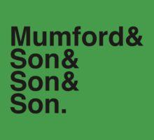 Mumford & Sons Baby Tee