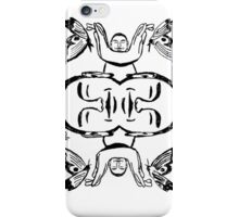 Butterfly Buddha  iPhone Case/Skin