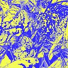 Blue and Yellow Foliage by AuntDot