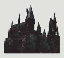 Grey-scale Hogwarts T-Shirt