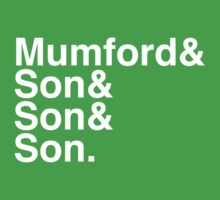 Mumford & Sons One Piece - Short Sleeve