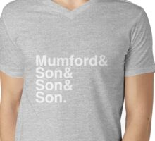 Mumford & Sons Mens V-Neck T-Shirt
