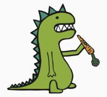 Hungry Dinosaur One Piece - Short Sleeve