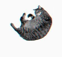 3D Cat in SPACE Unisex T-Shirt